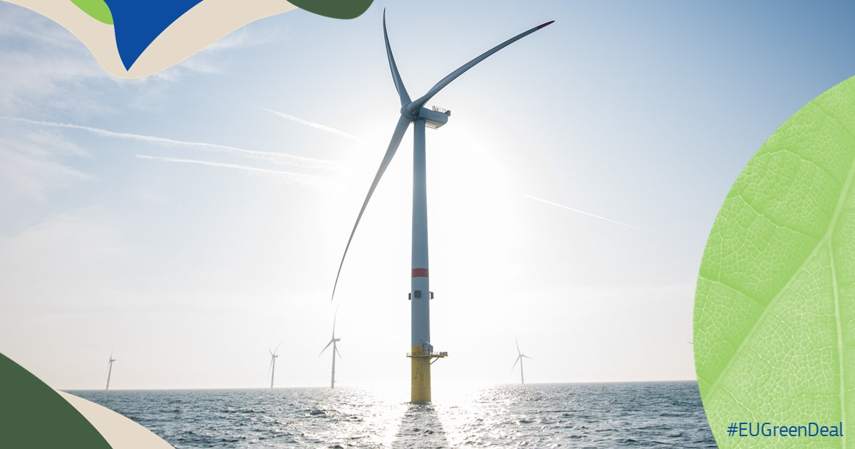 Confirmed: EU Aims for 300+ GW of Offshore Wind by 2050