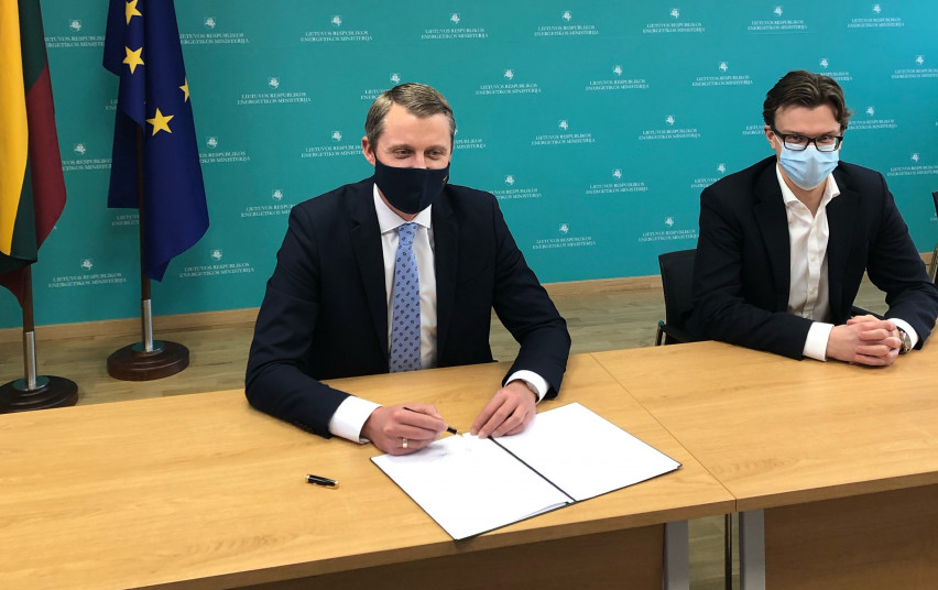 Lithuania, Flanders Ink Offshore Wind MOU
