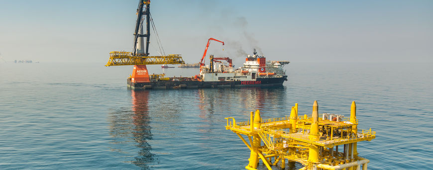 Heerema wraps up installation project offshore Qatar