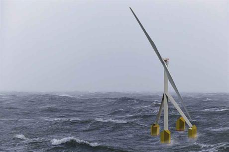 Germans Developing Self-Aligning Floating Wind Turbine