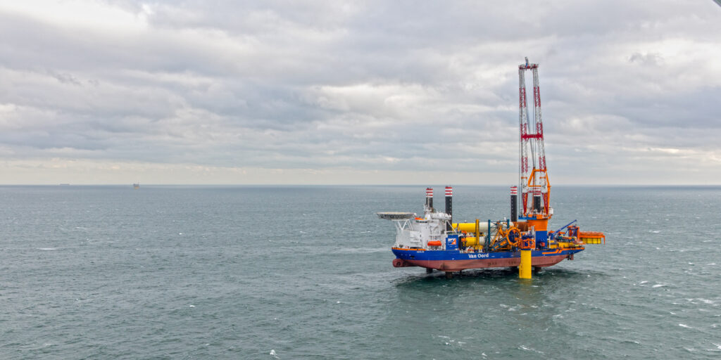 Van Oord to Install Monopiles, Inter-Array Cables at Sofia Offshore Wind Farm