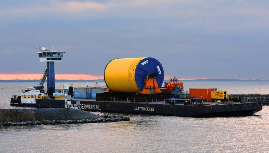 Inter-Array Cable Installation Starts at Windpark Fryslân