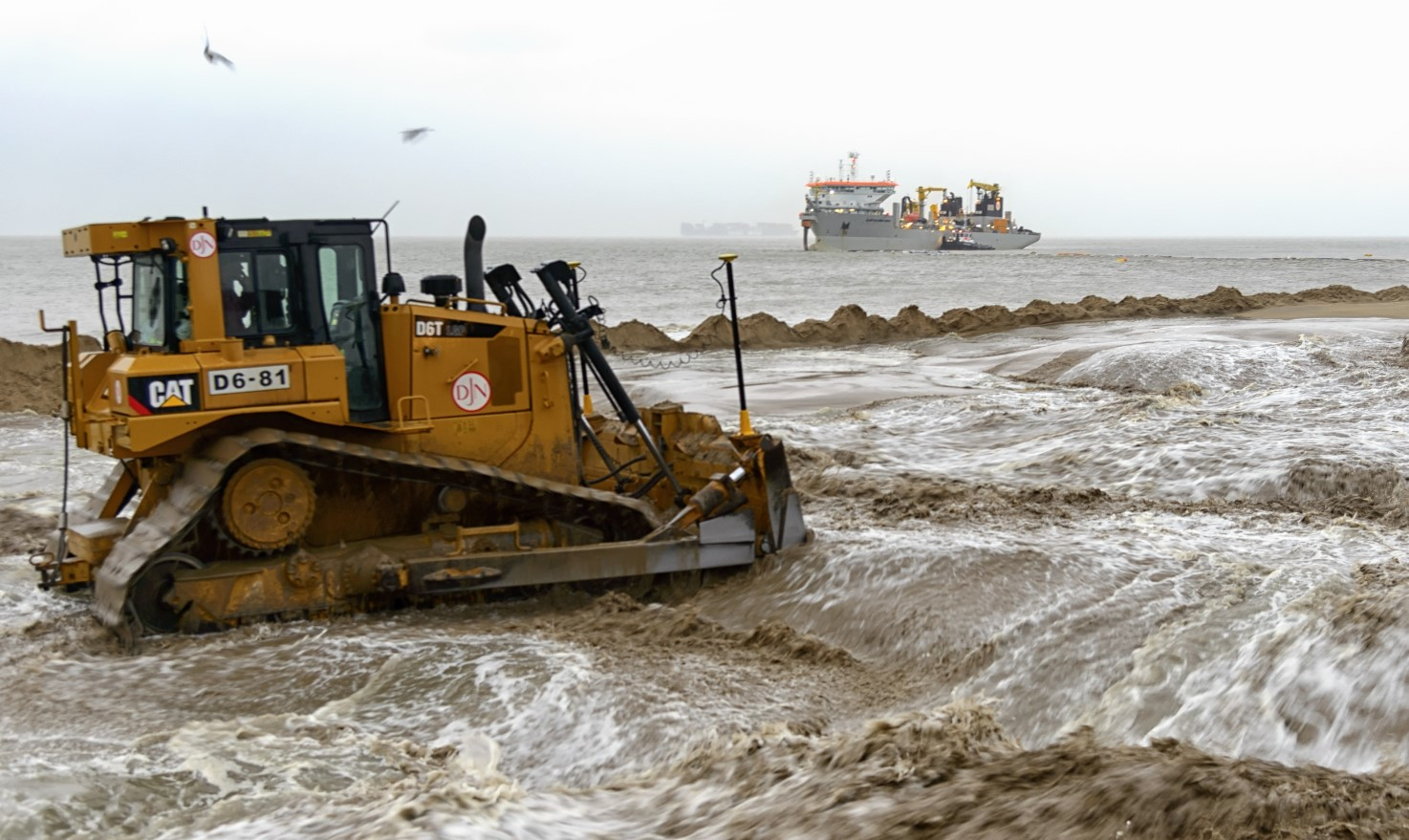 JDN's first 100% sustainable beach replenishment project in Belgium