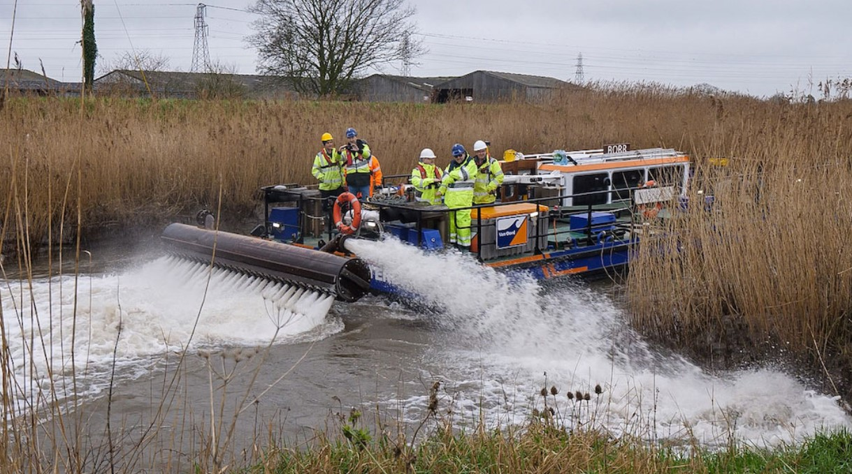 New round of River Parrett dredging works
