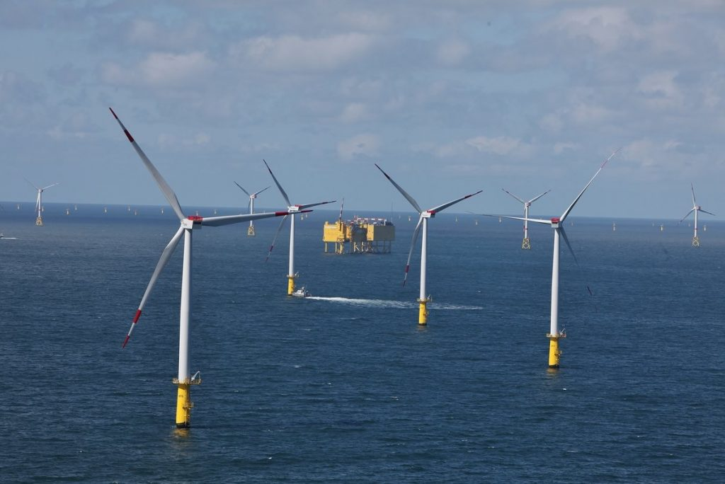 German offshore wind production reaches new peak in 2020