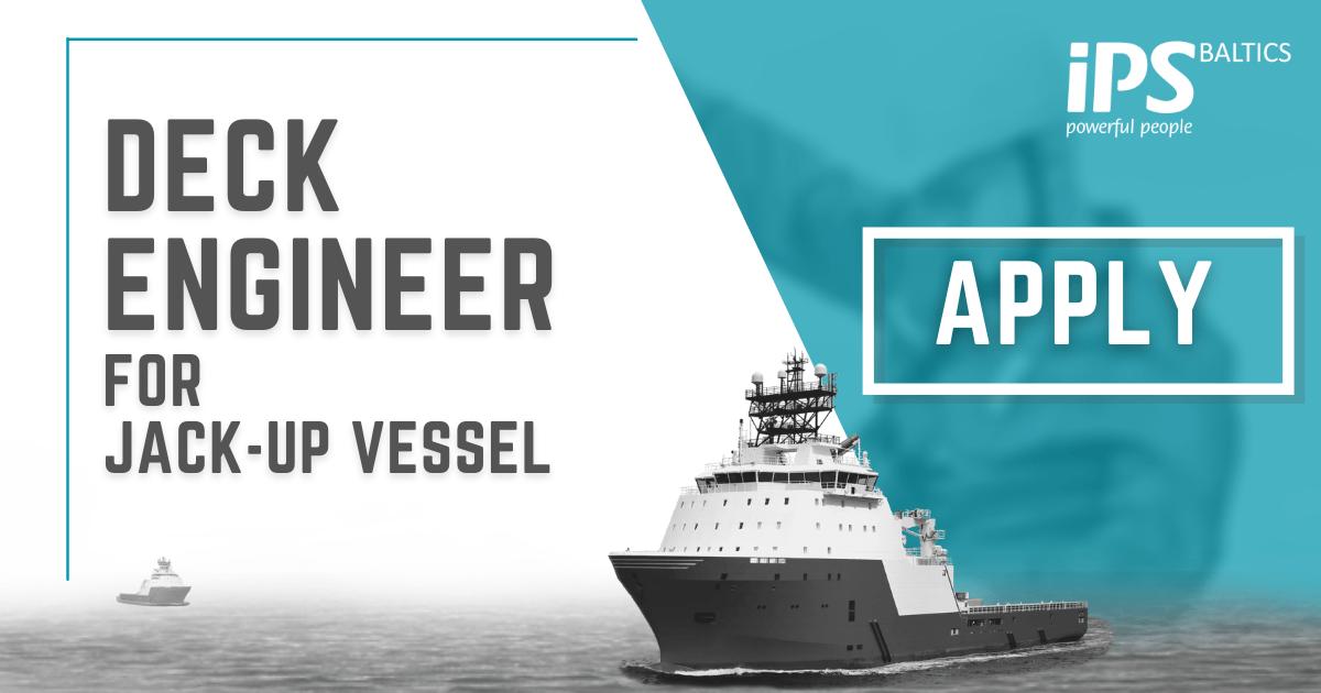 Deck Engineer for Jack-up