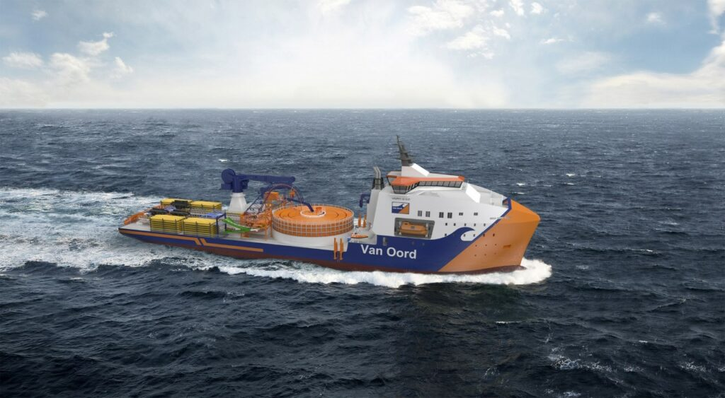 MAATS Tech Nets Contract for Van Oord's New CLV