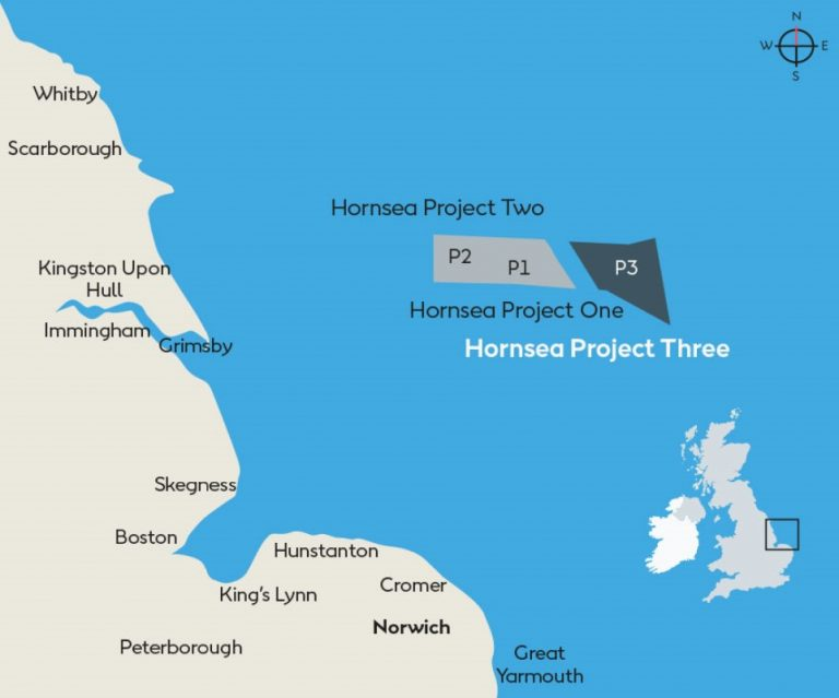 UK Gives Go-Ahead to Hornsea Three Offshore Wind Farm