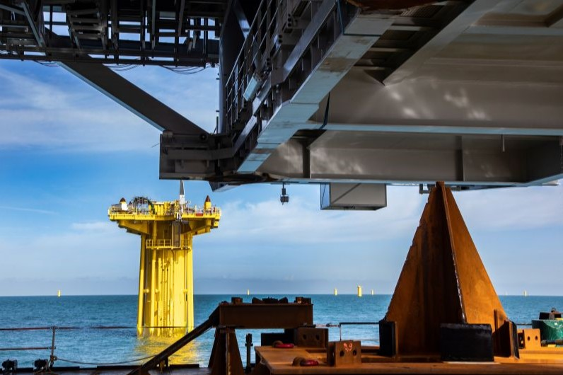 DEME to Transport and Install Dutch Offshore Substations