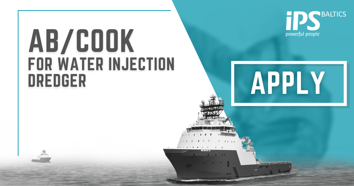AB/Cook for Water Injection Dredger
