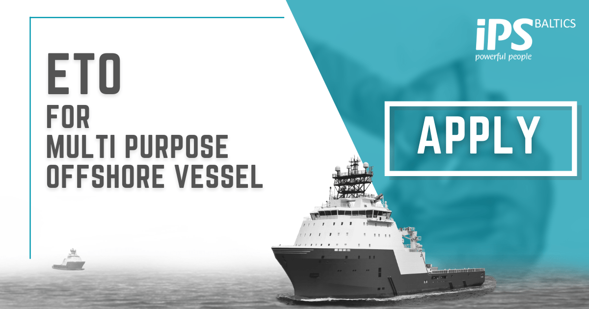 ETO for Multi Purpose Offshore vessel