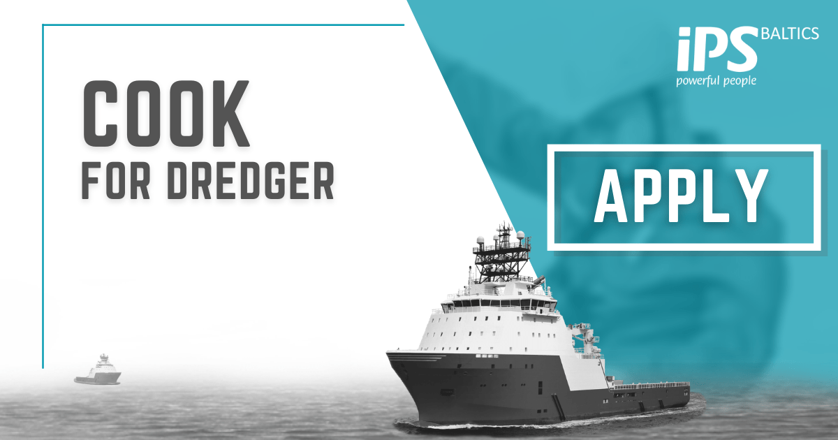 Experienced Cook for Dredger
