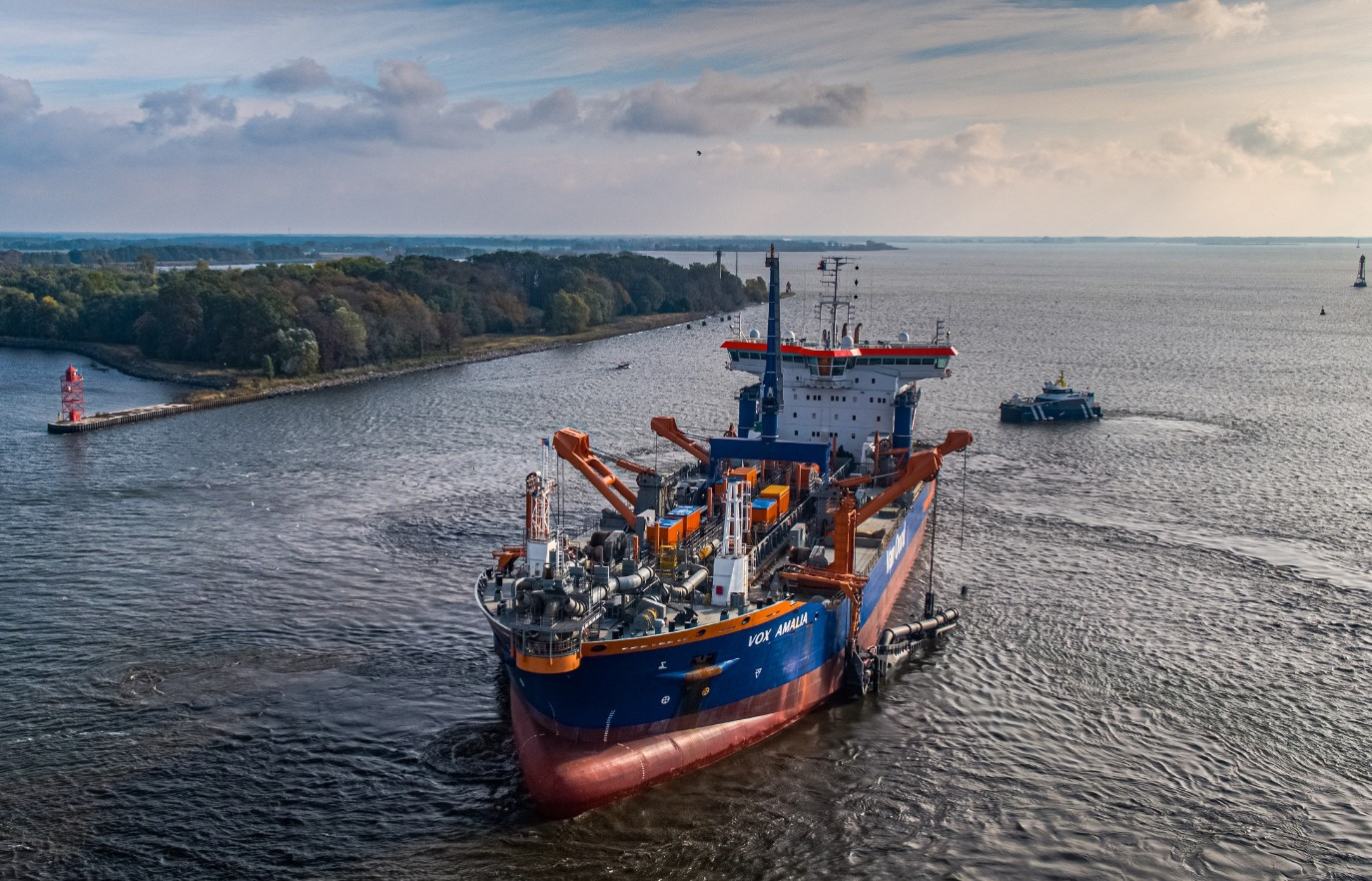 Van Oord reports solid results despite challenging year