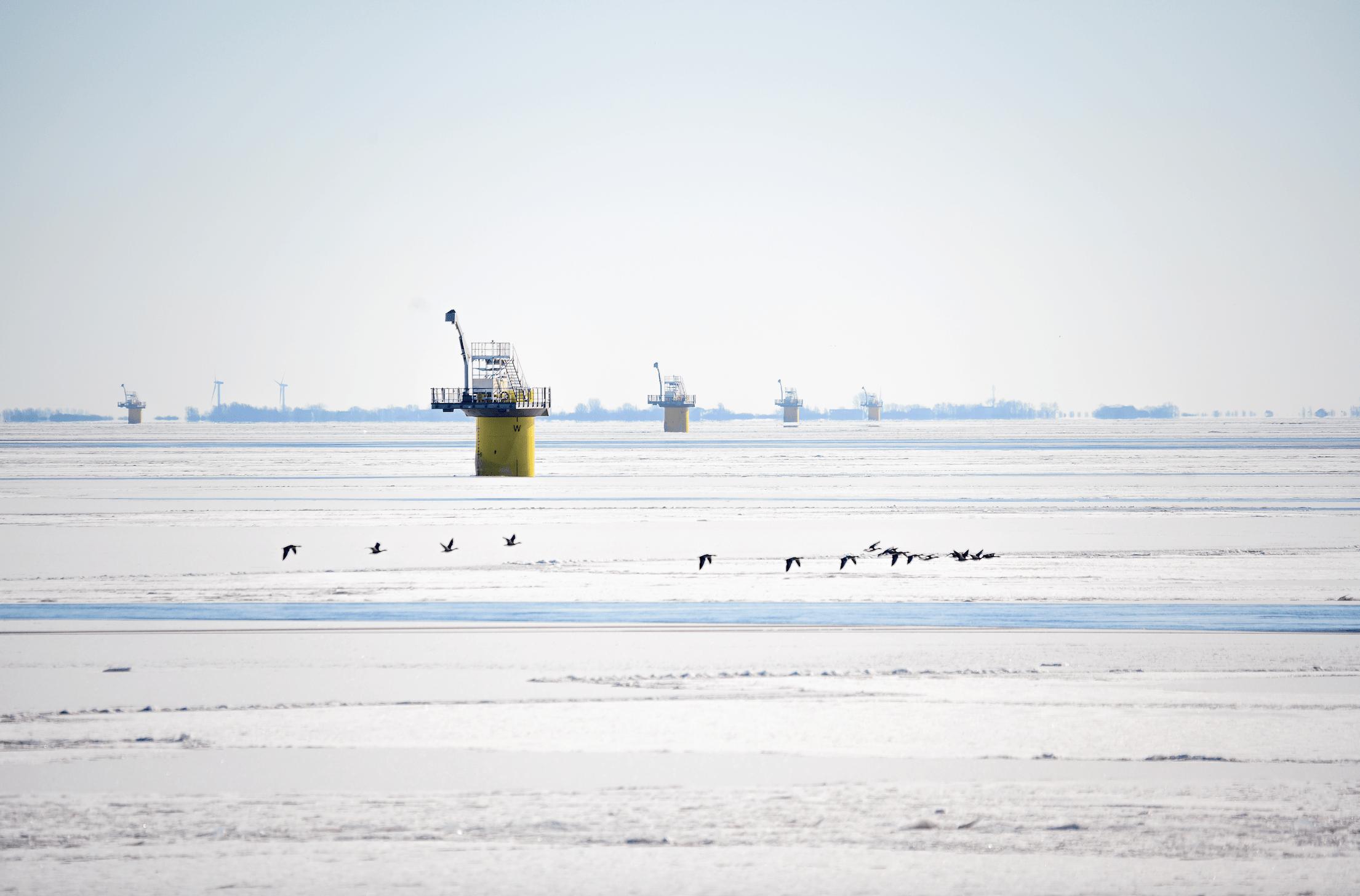 Turbine Installation Kicks Off at Windpark Fryslân