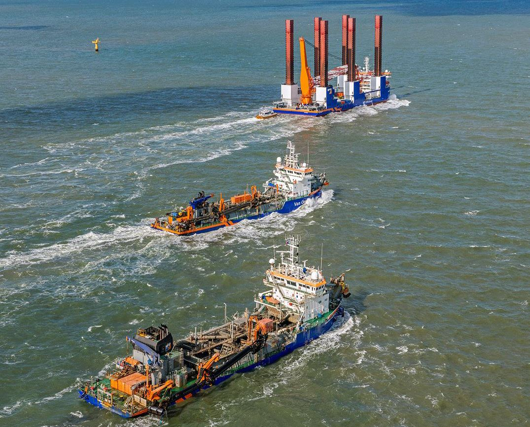 ABB, Van Oord: Continuous improvements in sustainability