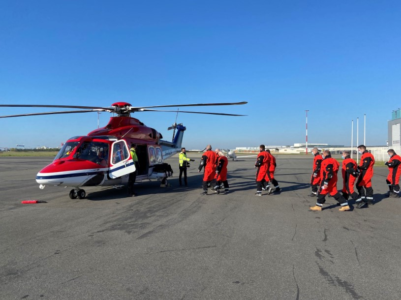 CHC Helicopter to Back DEME at Saint-Nazaire