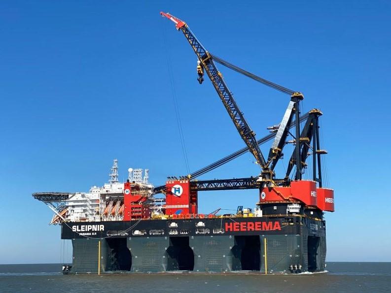 Sleipnir to Install Sofia HVDC Offshore Platform