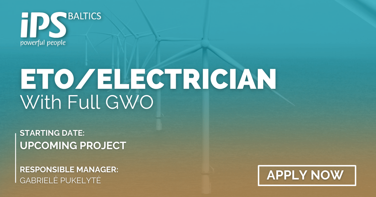 Electricians/ETO with full GWO