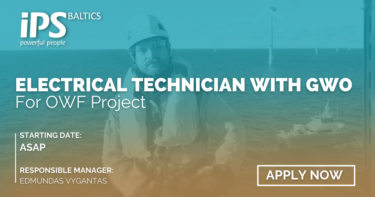 Electrical Technicians with GWO