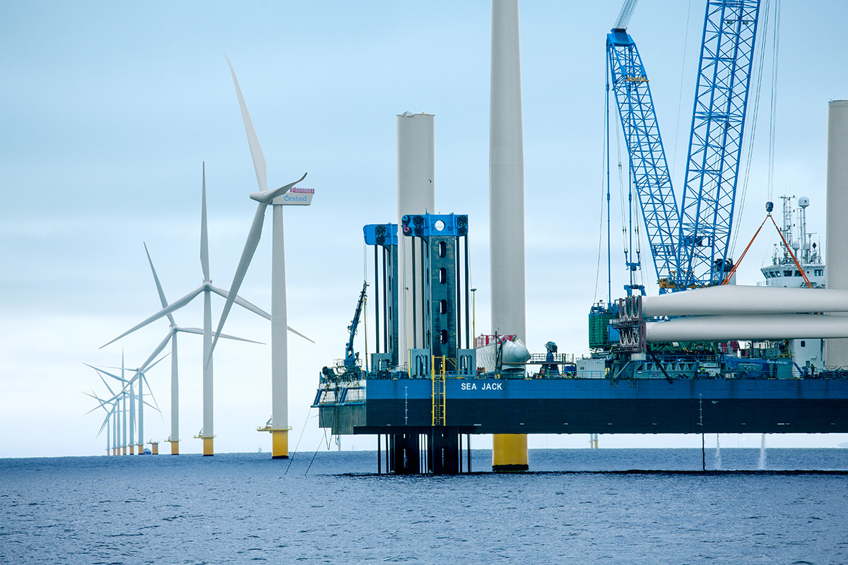 Giant offshore wind projects to be built in Ireland's seas