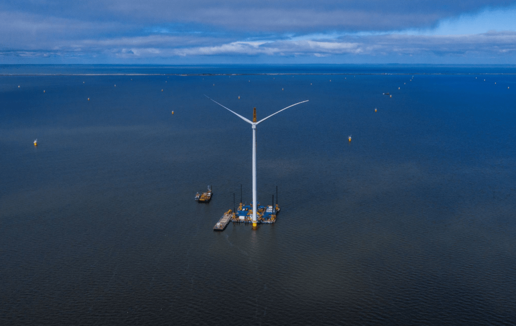 First Power Flows from Windpark Fryslân