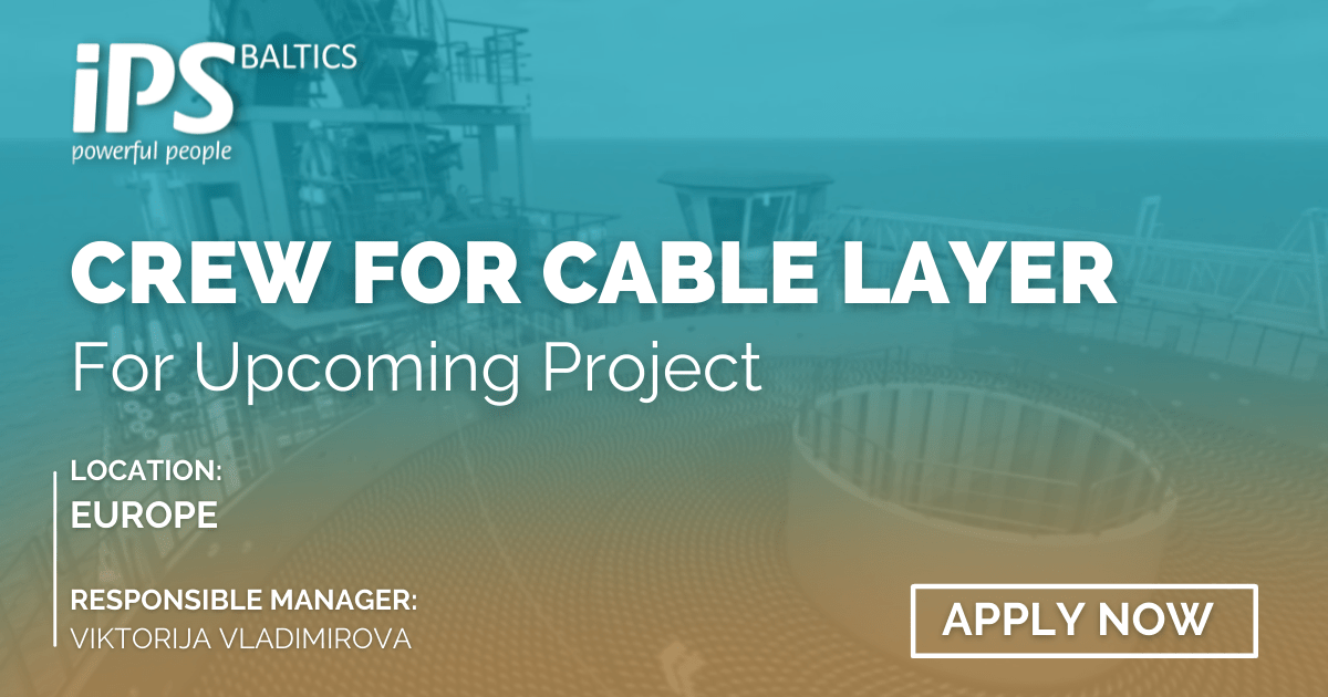 Personnel with Cable lay experience