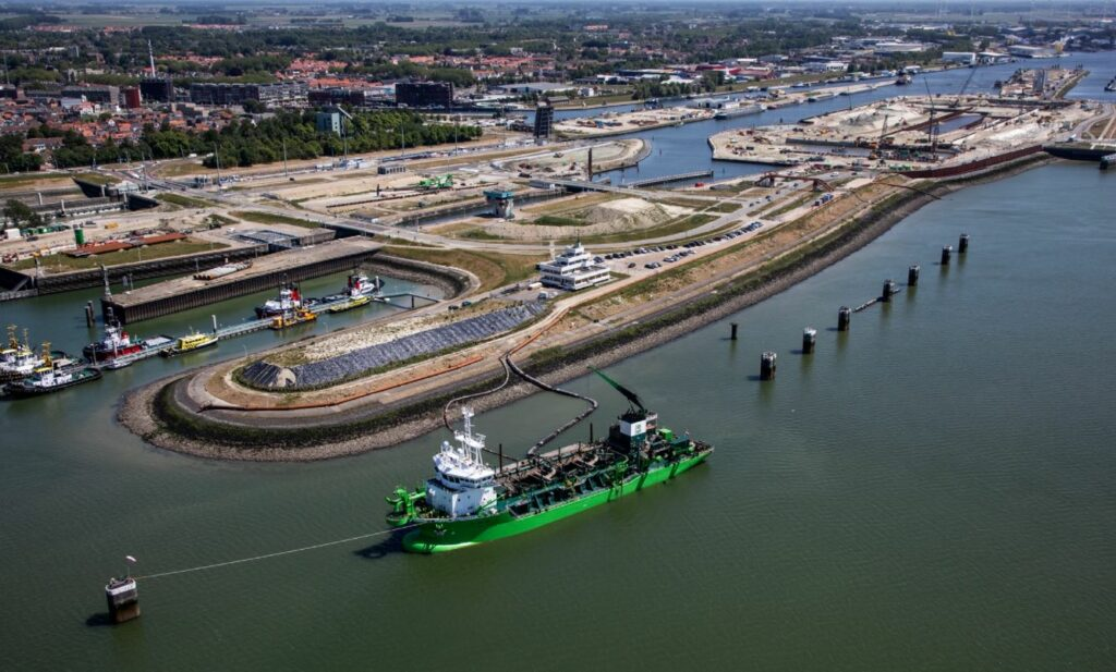 New Lock Terneuzen and Fort Sint-Filips projects on display