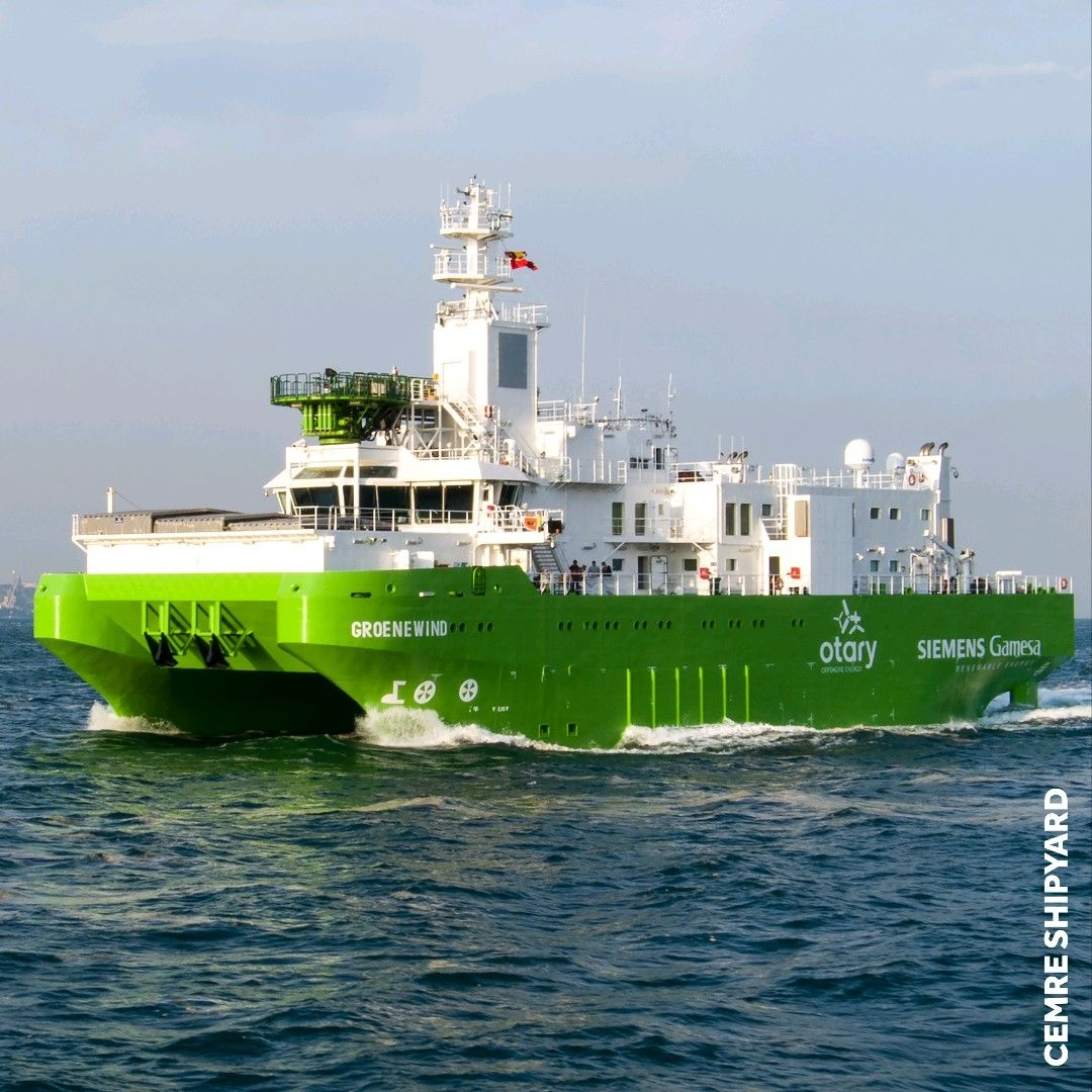 DEME Takes Delivery of Its First-Ever SOV
