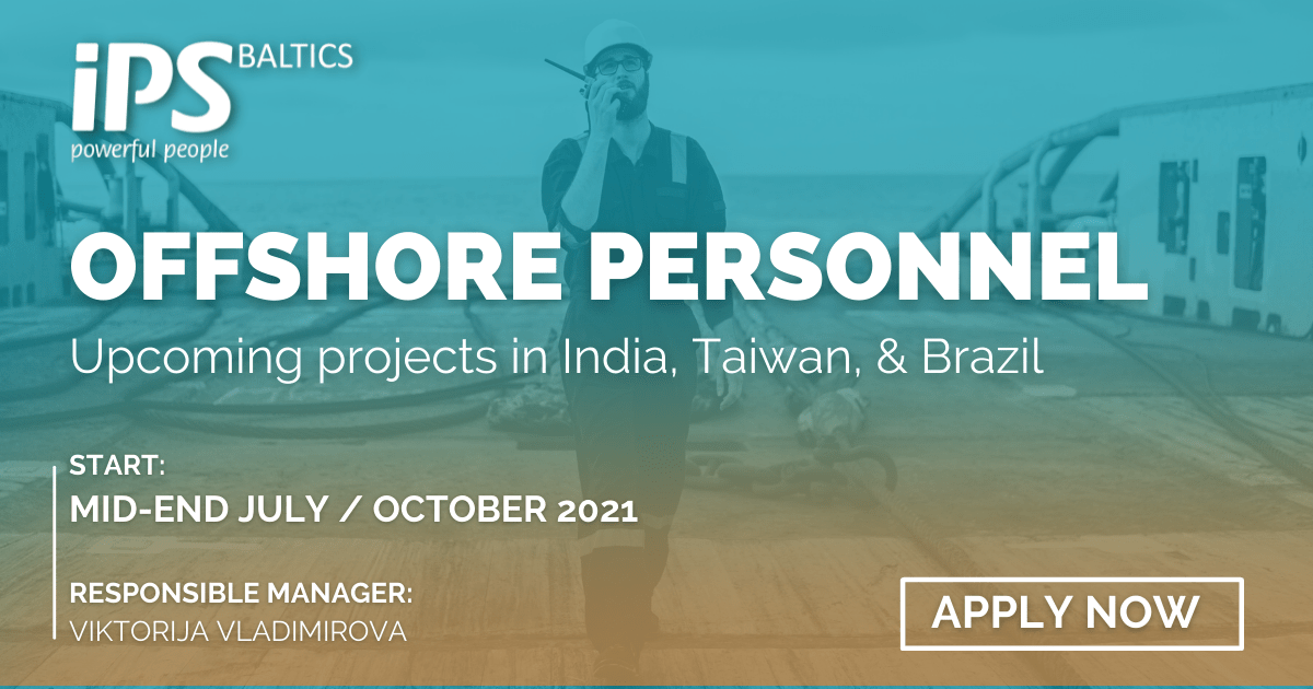 Offshore Job Offer: Offshore Personnel