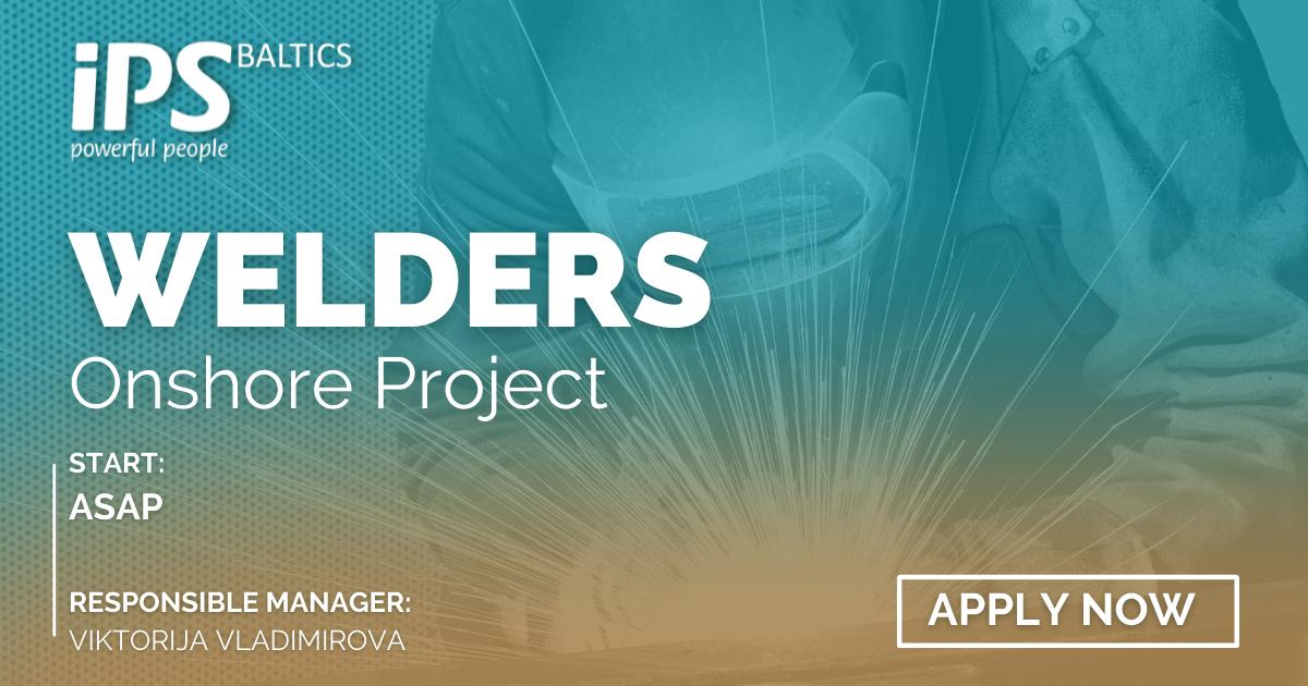 Welders & Straightener | Onshore Job Offer