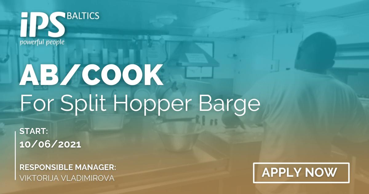 AB/Cook for Split Hopper Barge