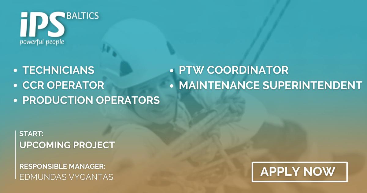Technicians, CCR Operators, PTW Coordinators, Maintenance Superintendents, Production Operators for Oil & Gas Industry