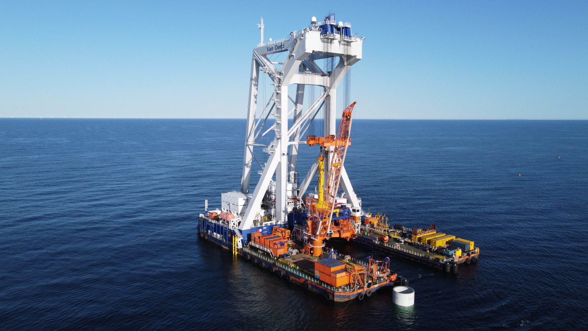 Van Oord to Install Foundations, Inter-Array Cables on Iberdrola's German OWF