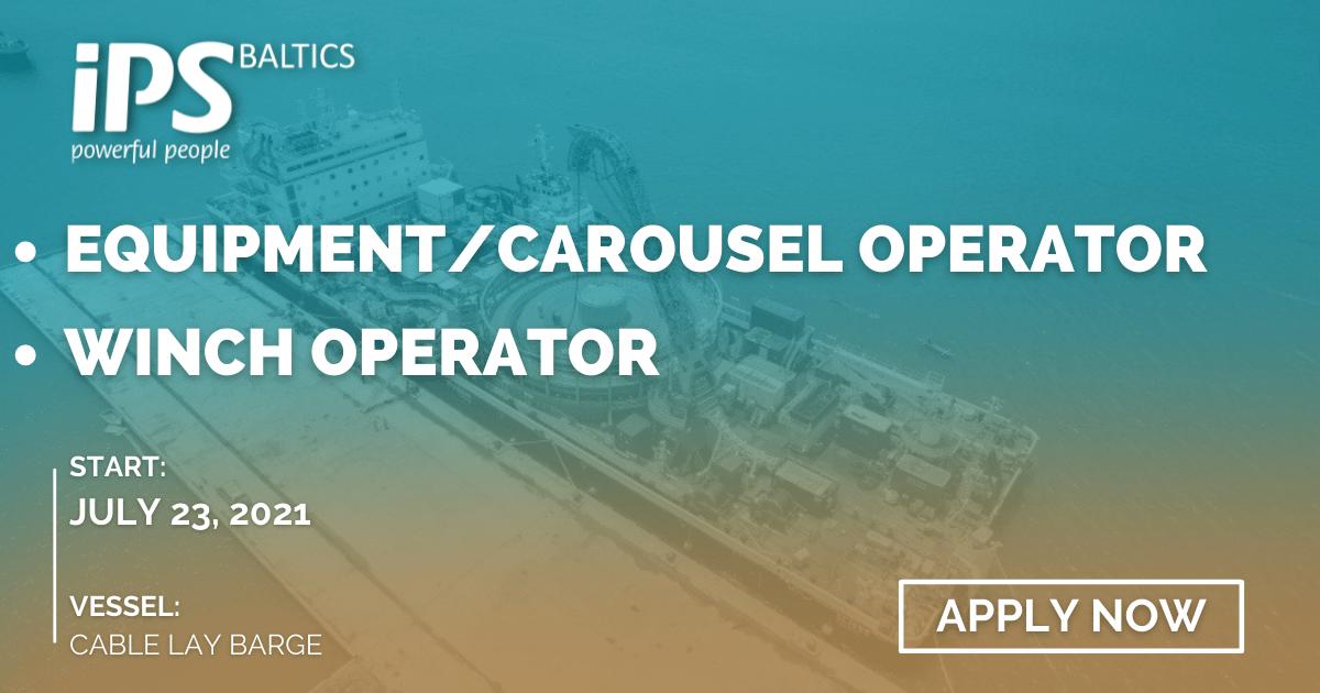 Equipment/Carousel Operator and Winch Operator
