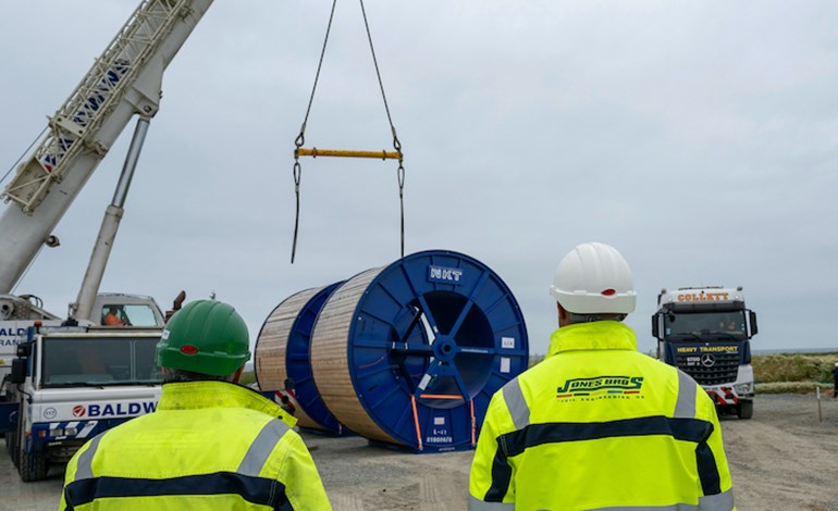 First Dogger Bank onshore cables arrive