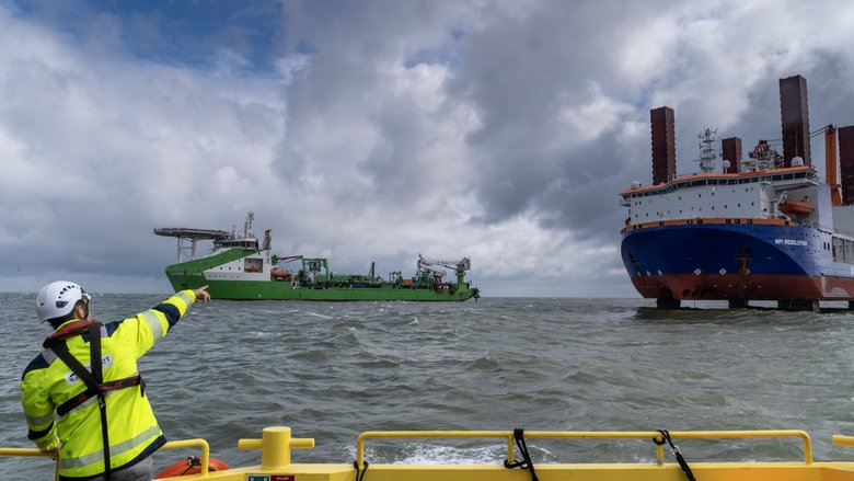Export Cable Installation Resumes at Hollandse Kust Zuid
