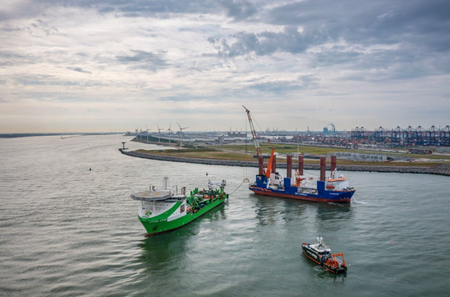 Hollandse Kust Zuid Export Cables In Place