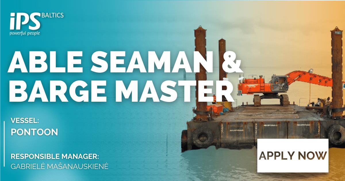 AB & Barge Master for Pontoon