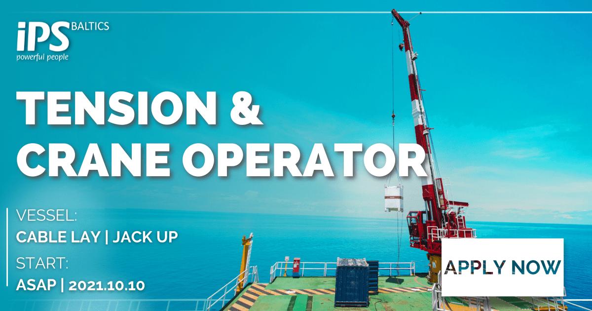 Tensioner & Crane Operator